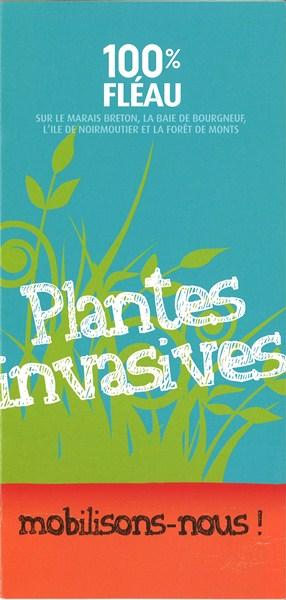 plaquette plantes invasives